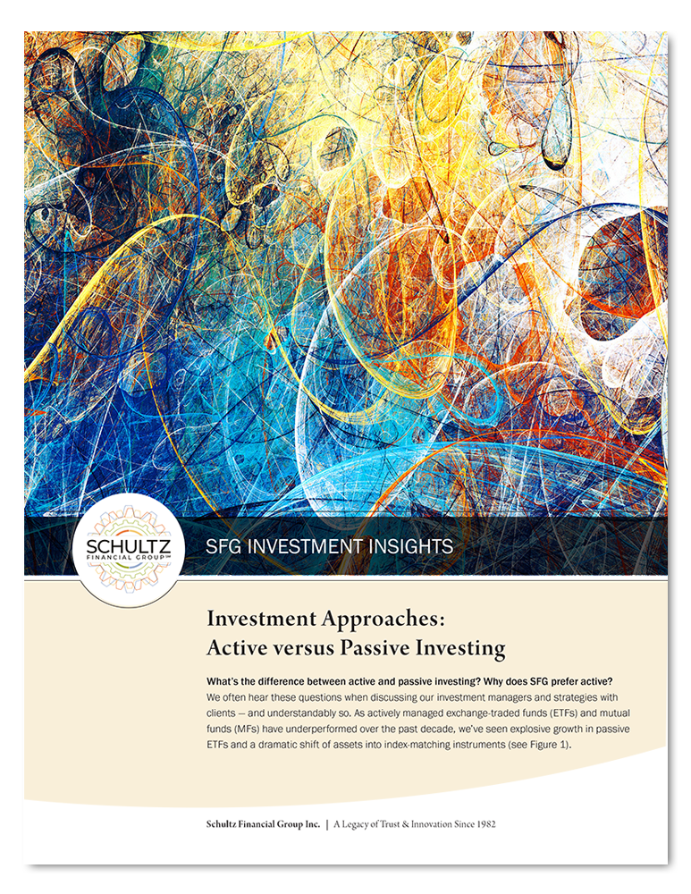 2021 SFG Investment Approaches: Active versus Passive Investing